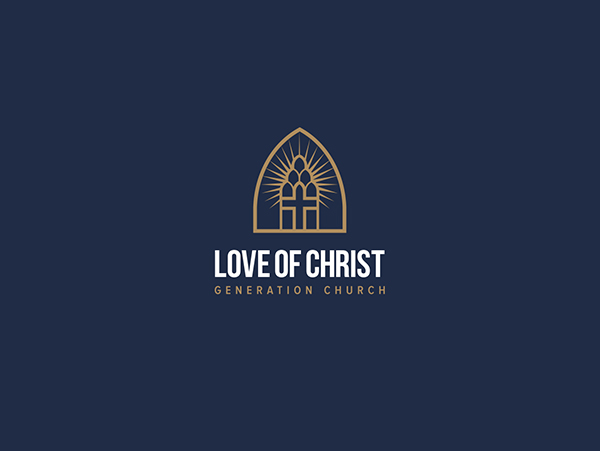 Love of christ church first logo version