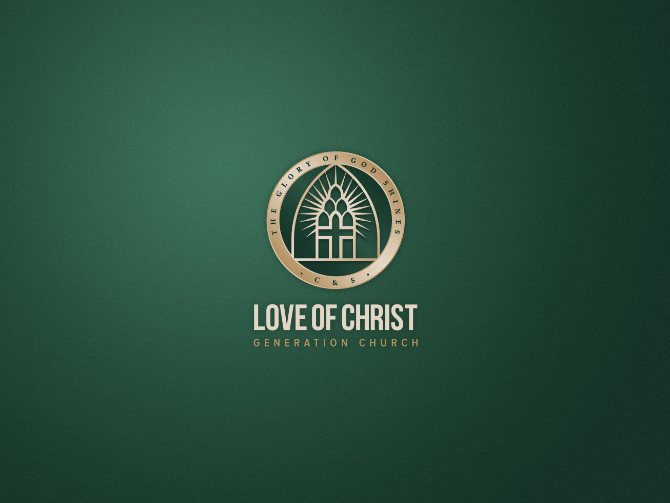 Love of christ church with all seal compact