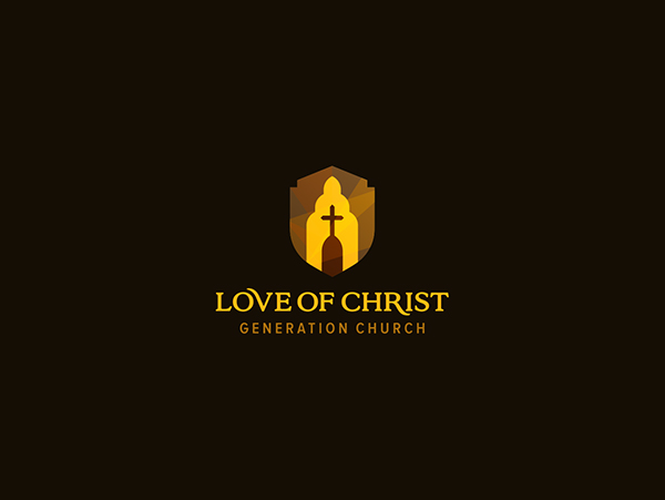 Love of christ church fourth logo version