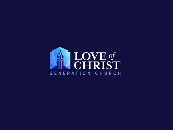 Love of christ church fifth logo version