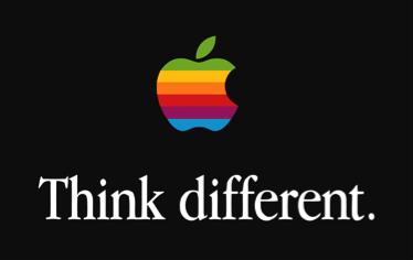 Apple's third logo