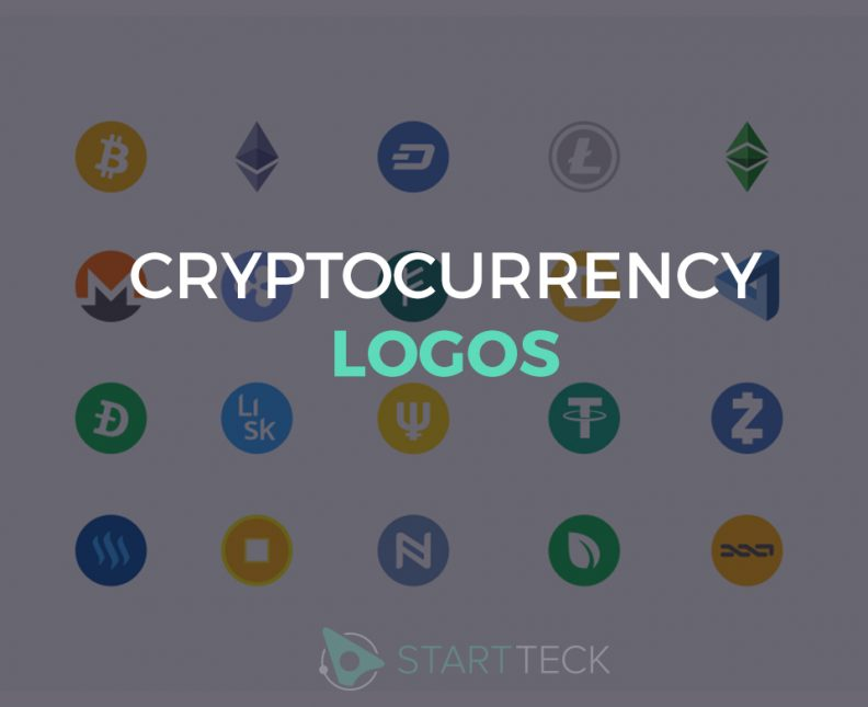 cryptocurrency logos designs